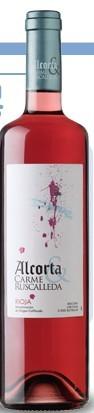 阿尔克塔&卡梅卢斯卡耶达桃红葡萄酒(Alcorta&Carme Ruscalleda Rosado,Rioja DOCa,Spain)