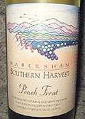 哈博沙酒庄南边采摘桃子干白葡萄酒(Habersham Southern Harvest Peach Treat,Georgia,USA)