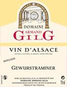 吉力歌琼瑶浆半甜型白葡萄酒(Domaine Armand Gilg Gewurztraminer,Alsace,France)