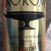 奥拉姆9克拉贵族赛美蓉甜白葡萄酒(Aurum 9 Carat Noble Semillon,Central Otago,New Zealand)
