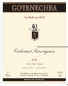 霍延埃察赤霞珠干红葡萄酒(Goyenechea Cabernet Sauvignon,San Rafael,Argentina)