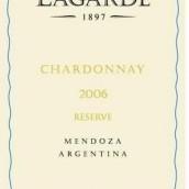 拉歌霞多丽干白葡萄酒(Lagarde Chardonnay,Mendoza,Argentina)