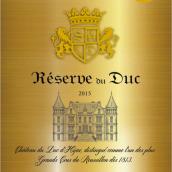 La Reserve du Duc, Cotes du Roussillon, France