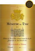 La Reserve du Duc,Cotes du Roussillon,France