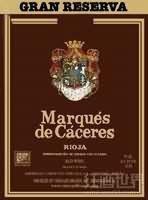 卡塞里侯爵特级珍藏干红葡萄酒(Marques de Caceres Gran Reserva,Rioja DOCa,Spain)