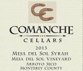 科曼奇梅莎戴索尔园西拉干红葡萄酒(Comanche Cellars Mesa Del Sol Vineyard Syrah,Monterey County...)