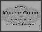 墨菲-古蒂赤霞珠干红葡萄酒(亚历山大谷)(Murphy-Goode Cabernet Sauvignon,Alexander Valley,USA)