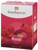 西蒙斯雷生活天然桃红甜酒(Simonsvlei Lifestyle Natural Sweet Rose, Paarl, South Africa)
