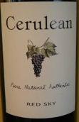兰天酒庄红色天空干红葡萄酒(Cerulean Skies Wine Red Sky Blend,Oregon,USA)