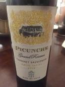 碧春哲酒庄特级珍藏赤霞珠红葡萄酒(Picunche Grand Reserve Cabernet Sauvignon,maipo valley,Chile)