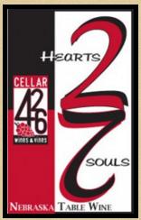 426酒庄心有灵犀桃红葡萄酒(Cellar 426 2 Hearts 2 Souls,Nebraska,USA)
