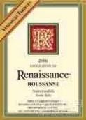 复兴晚熟瑚珊干白葡萄酒(Renaissance Vendage Tardive Roussanne,North Yuba,USA)