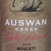 天鹅庄金选莫斯卡托微起泡甜白葡萄酒(Auswan Creek Gold Selection Moscato,South Australia,...)