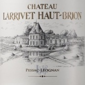 拉里奥比昂酒庄干红葡萄酒(Chateau Larrivet Haut-Brion,Pessac-Leognan,France)