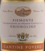 普维若格丽尼奥里诺干红葡萄酒(Cantine Povero Piedmont Grignolino,Piedmont,Italy)