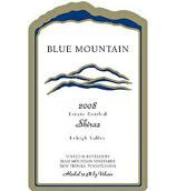蓝峰西拉红葡萄酒(Blue Mountain Vineyards Shiraz,Lehigh Valley,USA)