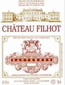 飞跃酒庄贵腐甜白葡萄酒(Chateau Filhot, Sauternes, France)