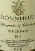 杜荷夫单桶白皮诺-霞多丽干白葡萄酒(Weingut Donnhoff Stuckfass Weissburgunder - Chardonnay Trocken, Nahe, Germany)