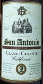 圣安东尼奥经典基安帝桑娇维塞干红葡萄酒(San Antonio Winery Classic Chianti Sangiovese,California,USA)