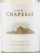 圣教堂庄园系列柔顺白葡萄酒(Ste. Chapelle Chateau Series Soft White, Idaho, USA)