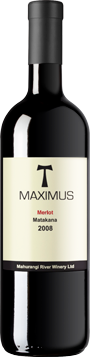 马赫兰基河马克西姆梅洛红葡萄酒(Mahurangi River Winery Maximus Merlot,Auckland,New Zealand)