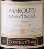 干露侯爵西拉干红葡萄酒(Concha y Toro Marques de Casa Concha Syrah, Maipo Valley, Chile)