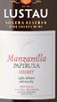 卢士涛索雷拉珍藏曼赞尼拉巴比卢萨雪莉酒(Lustau Solera Reserva Manzanilla Papirusa Sherry,Andalucia,...)