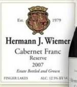 赫尔曼品丽珠干红葡萄酒(Hermann J.Wiemer Reserve Cabernet Franc,Finger Lakes,USA)