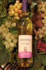 艾历山大灰皮诺干白葡萄酒(Aleksander Winery Pinot Grigio,Ontario,Canada)
