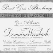 温巴赫灰皮诺粒选贵腐甜白葡萄酒(Domaine Weinbach Pinot Gris Selection de Grains Nobles,...)