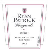 瑞安帕特里克反叛者GSM混酿红葡萄酒(Ryan Patrick Rebel GSM, Wahluke Slope, USA)