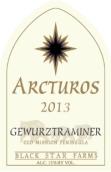 黑星农场大角星琼瑶浆干白葡萄酒(Black Star Farms Arcturos Gewurztraminer, Old Mission Peninsula, USA)