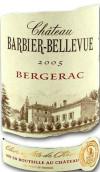 巴比尔贝尔维城堡红葡萄酒(Chateau Barbier-Bellevue,Bergerac,France)