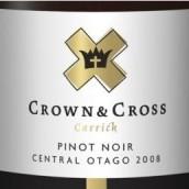 凯瑞克班诺克皇冠十字黑皮诺干红葡萄酒(Carrick Crown&Cross Pinot Noir,Bannockburn,New Zealand)