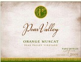 梨花谷麝香白葡萄酒(Pear Valley Orange Muscat,Paso Robles,USA)