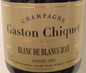 盖斯顿奇克艾伊特级园白中白香槟(Champagne Gaston Chiquet Blanc de Blancs Grand Cru d'Ay,...)