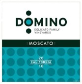 德利卡多米诺莫斯卡托半干型白葡萄酒(Delicato Family Vineyards Domino Moscato, California, USA)
