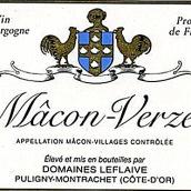 勒弗莱酒庄马贡-韦尔兹干白葡萄酒(Domaine Leflaive Macon-Verze,Puligny-Montrachet,France)