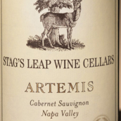 鹿跃酒窖狩猎神赤霞珠干红葡萄酒(Stag's Leap Wine Cellars Artemis Cabernet Sauvignon, Napa Valley, USA)