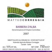Matteo Correggia Barbera d'Alba,Piedmont,Italy
