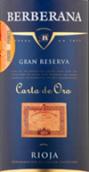 貝爾貝拉納金卡特級珍藏干紅葡萄酒(Bodegas Berberana Carta de Oro Gran Reserva, Rioja DOCa, Spain)