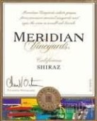 默里迪恩西拉干红葡萄酒(Meridian Vineyards Shiraz,California,USA)