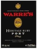 辛明顿家族华莱仕经典宝石红波特酒(Symington Family Warre's Heritage Ruby Port,Douro,Portugal)