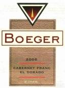 伯格尔品丽珠干红葡萄酒(Boeger Winery Cabernet Franc, El Dorado, USA)