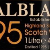 巴布莱尔1995年份苏格兰单一麦芽威士忌(Balblair 1995 Vintage Single Malt Scotch Whisky,Highlands,UK)