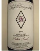 拉霍塔小西拉干红葡萄酒(La Jota Vineyard Petite Sirah, Howell Mountain, USA)