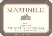 马丁南尼公驴山亚历山大麝香干白葡萄酒(Martinelli Jackass Hill Muscat Alexandria,Russian River ...)