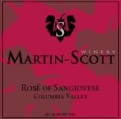 马丁斯科特桑娇维塞桃红葡萄酒(Martin Scott Rose of Sangiovese, Columbia Valley, USA)