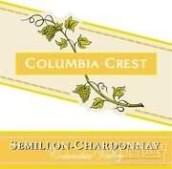 哥伦比亚山峰赛美蓉-霞多丽干白葡萄酒(Columbia Crest Two Vines Semillon-Chardonnay,Columbia Valley...)