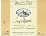 西普麦克麝香干白葡萄酒(Domaine Sipp Mack Muscat,Alsace,France)